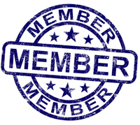 Member Stamp Shows Membership Registration And Subscribing